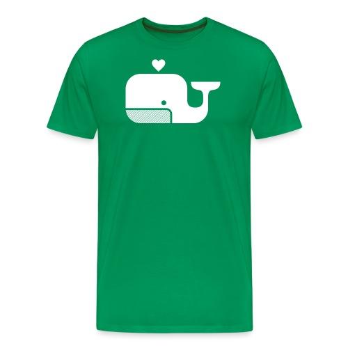 Ben der Blauwal! - Männer Premium T-Shirt