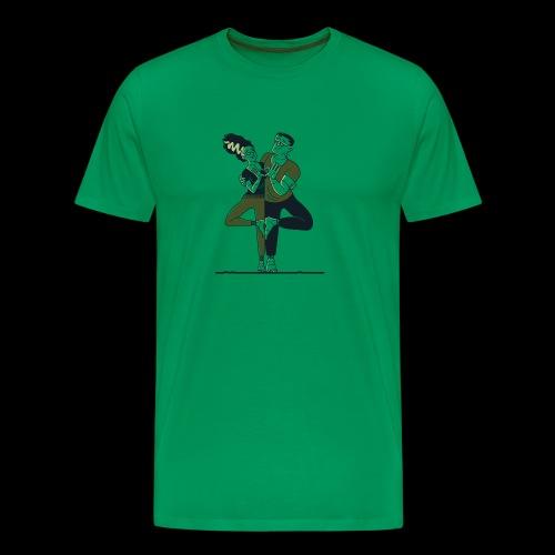 Partner Yoga - Männer Premium T-Shirt