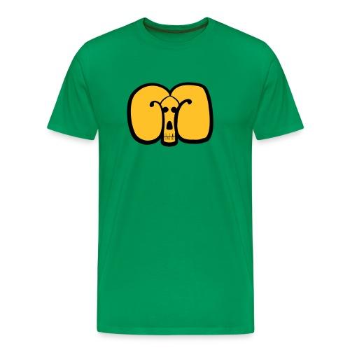 Maskin Goat 2col - Premium-T-shirt herr