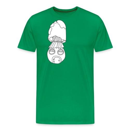 Pilzhaus - Männer Premium T-Shirt