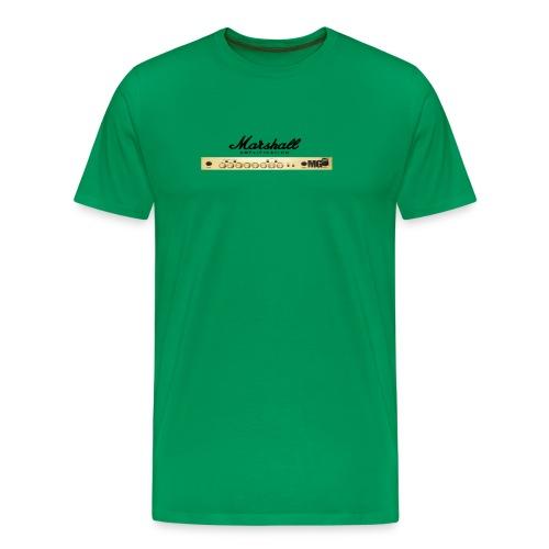 Marshall Amplification - Miesten premium t-paita