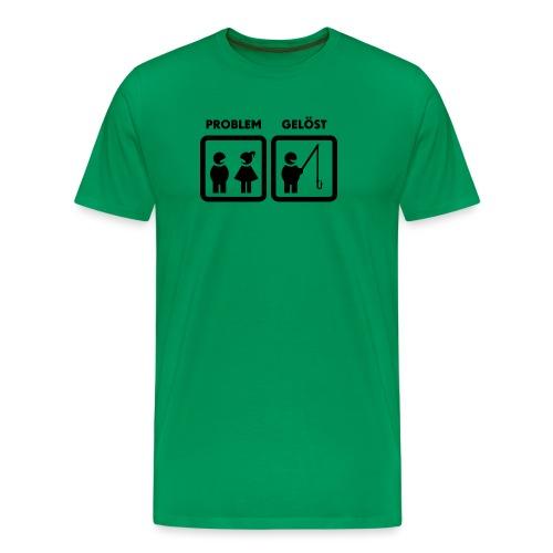 Problemlösung eines Anglers - Männer Premium T-Shirt