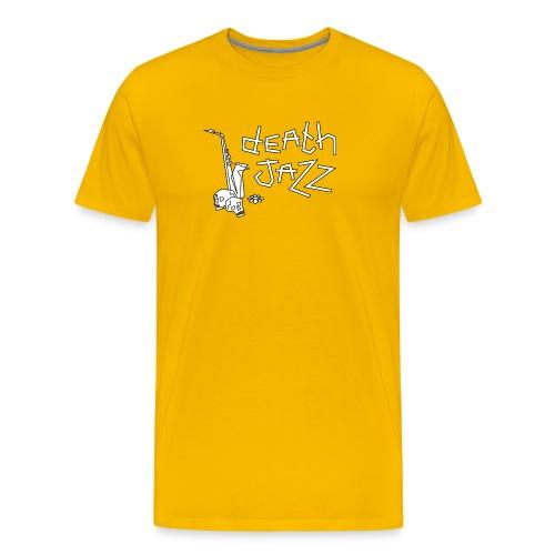 Death jazz (bold) - Mannen Premium T-shirt