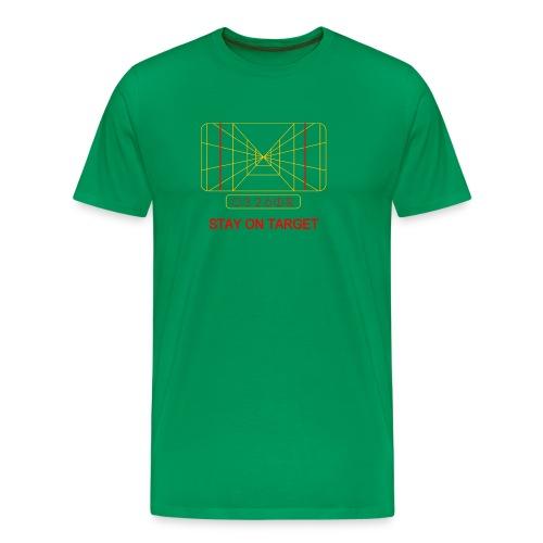 STAY ON TARGET 1977 TARGETING COMPUTER - Men's Premium T-Shirt