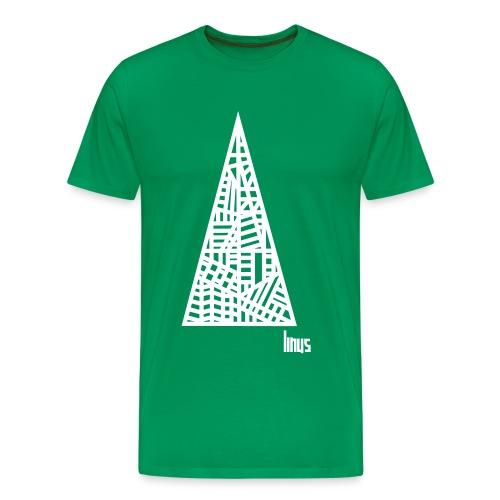 linus ready schriftzug veraendern 110 - Männer Premium T-Shirt
