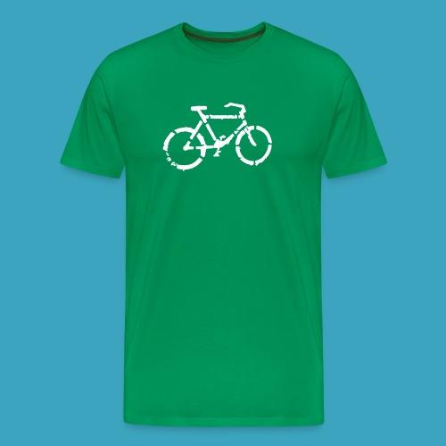 Fahrrad Pikto - Männer Premium T-Shirt