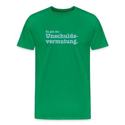Unschuldsvermutung - Männer Premium T-Shirt