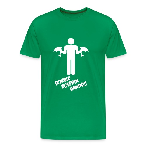 Double Dolphin 2 - Men's Premium T-Shirt