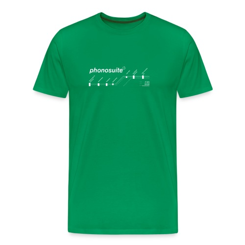 phonosuite map - Männer Premium T-Shirt