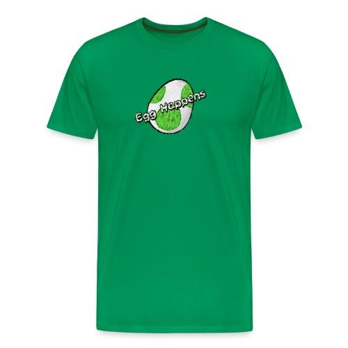 Egg Happens - Männer Premium T-Shirt
