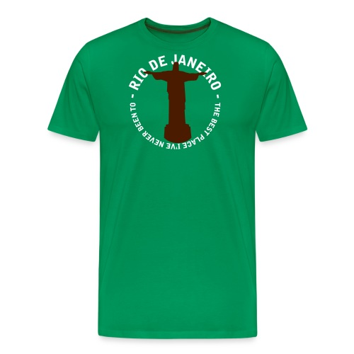 riodejaneiro - Mannen Premium T-shirt
