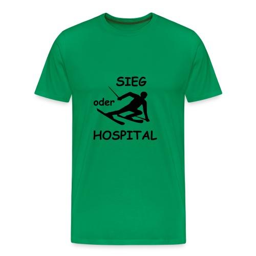 Sieg oder Hospital 01 Strand Shop - Männer Premium T-Shirt