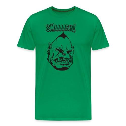 Smaaaash - Premium-T-shirt herr
