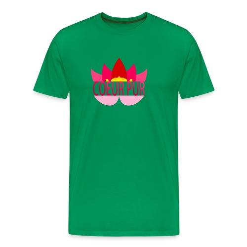 Lotus pur - T-shirt Premium Homme