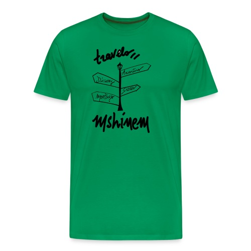 travels visu - T-shirt Premium Homme