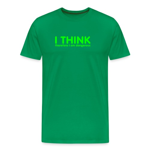 I THINK - Premium T-skjorte for menn