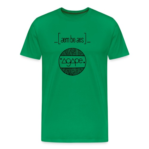 mbs-Agape Transparent - Männer Premium T-Shirt
