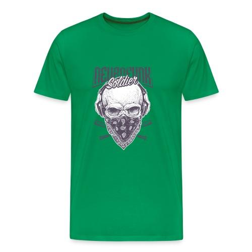 neurofunk soldier - T-shirt Premium Homme