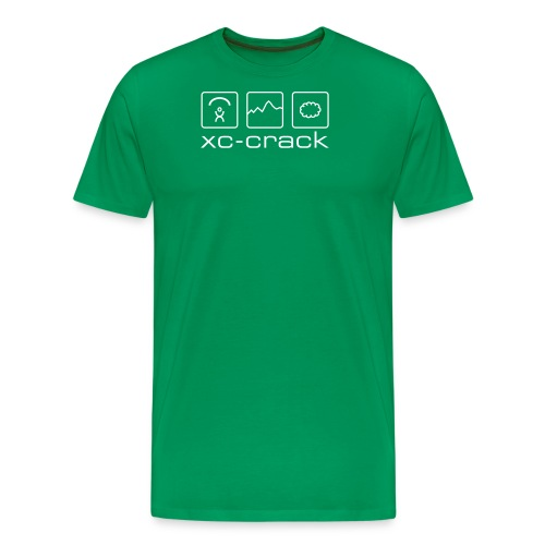 xc crack - Männer Premium T-Shirt