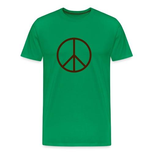 peace - Premium-T-shirt herr