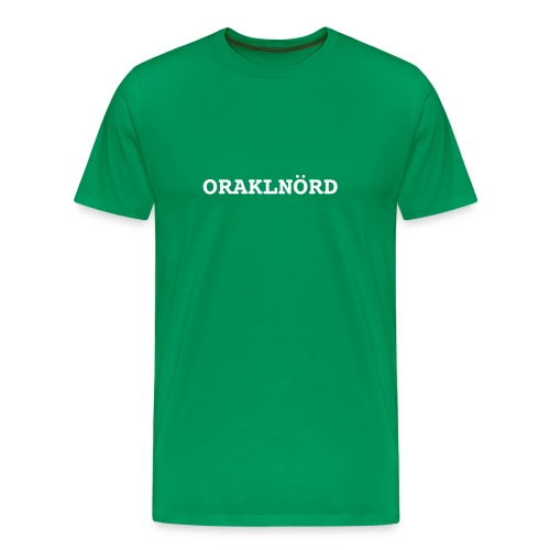 ORACLENERD Classic German - Men's Premium T-Shirt