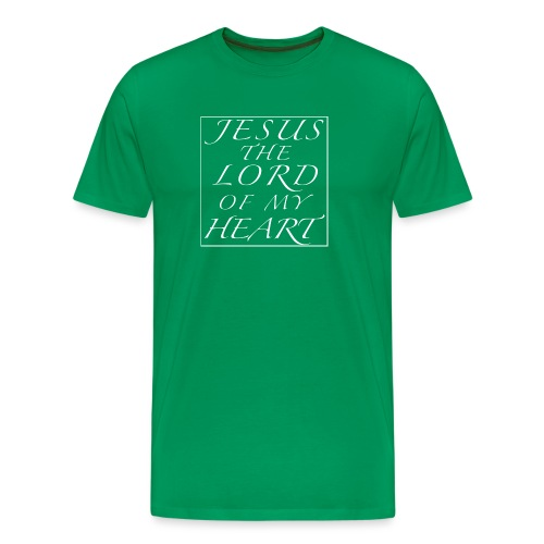 Jesus the Lord of my Heart - Männer Premium T-Shirt