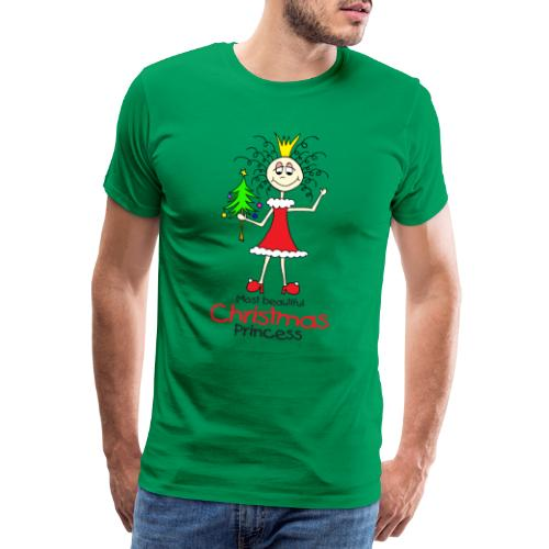Most beautiful Christmas Princess - Männer Premium T-Shirt