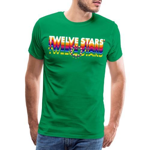 TWELVE STARS® EURO RETRO ONE LINE - Men's Premium T-Shirt