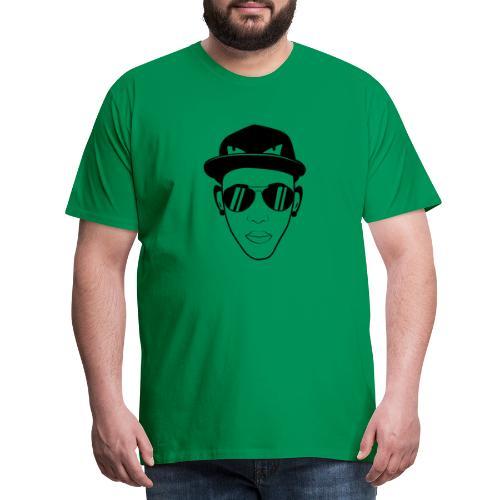 adhex cara - Camiseta premium hombre
