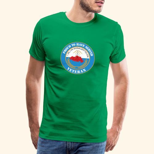 1 nl un signalbattalion veteraan - Mannen Premium T-shirt