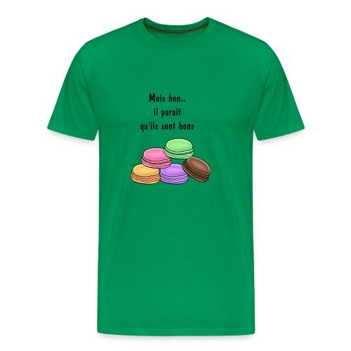 il parait quils sont bons printfile front - T-shirt Premium Homme