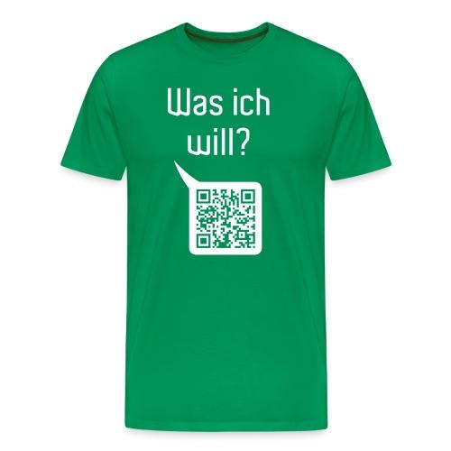 wasichwill - Männer Premium T-Shirt