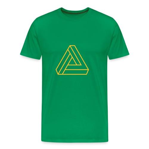 triangulos 1 - Camiseta premium hombre