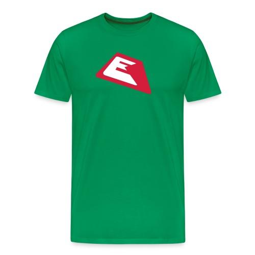 ek logo single03 2color - Männer Premium T-Shirt