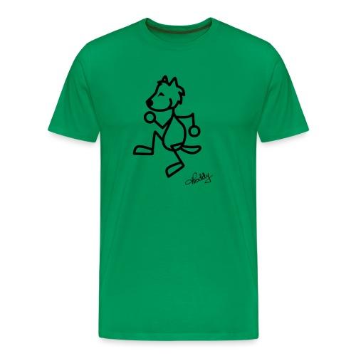 tanzenderwolf - Männer Premium T-Shirt