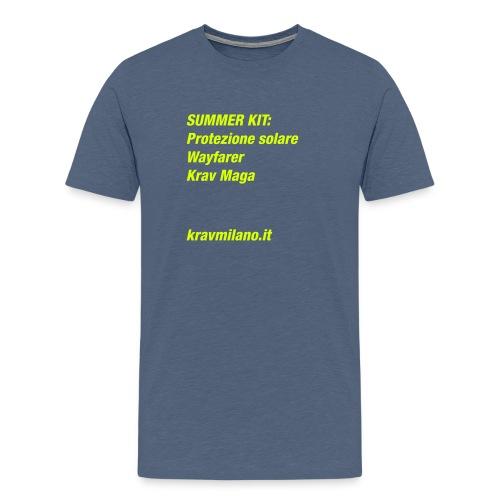 ekm-tee-summer2-02 - Maglietta Premium da uomo