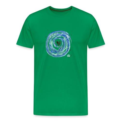 Energiespirale_Klarheit - Männer Premium T-Shirt