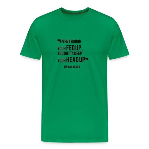 Mental Health Quote 1 - Men's Premium T-Shirt