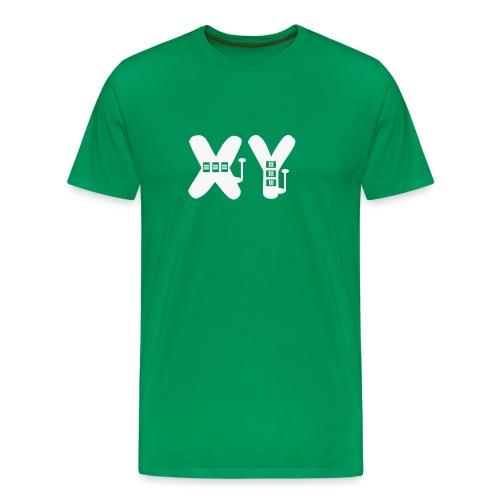 xy chromosomes slot gambler - Men's Premium T-Shirt