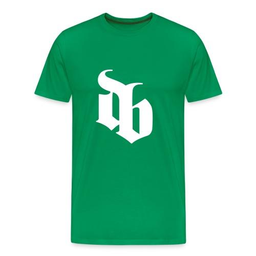 dblogo - Herre premium T-shirt