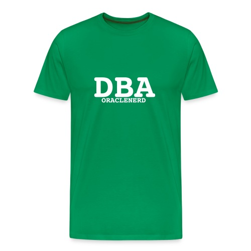 dba oraclenerd - Men's Premium T-Shirt