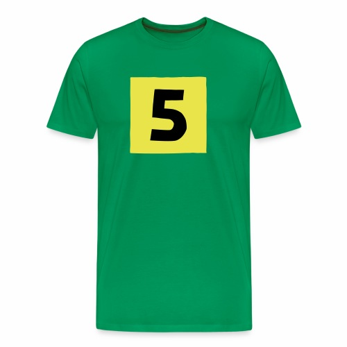 5 mantteli Racing Coat 5 - Miesten premium t-paita