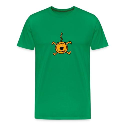 falling cat - Mannen Premium T-shirt