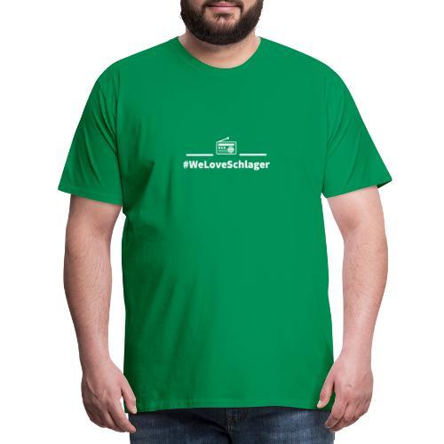 WeLoveSchlagerRadio - Männer Premium T-Shirt