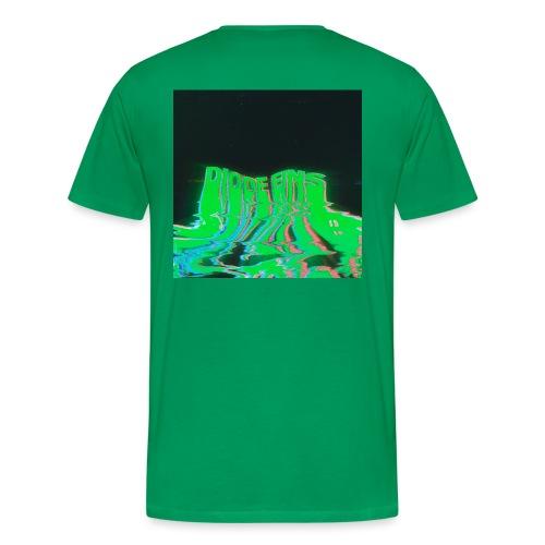 Funky Green - Männer Premium T-Shirt