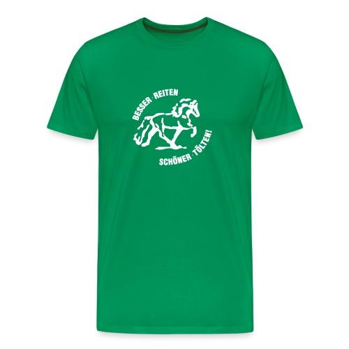 brst final black - Männer Premium T-Shirt