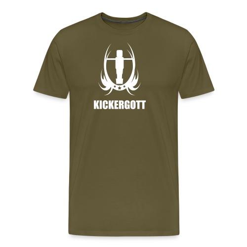 Tischfussball kickergott - Männer Premium T-Shirt