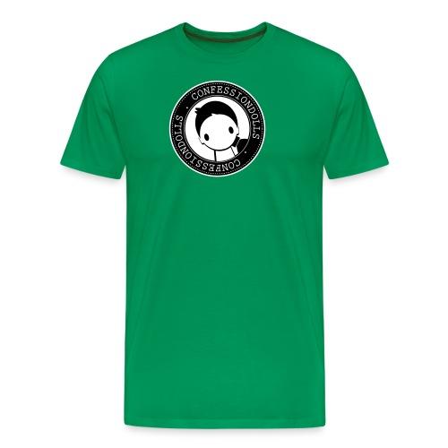 cd bw - Men's Premium T-Shirt