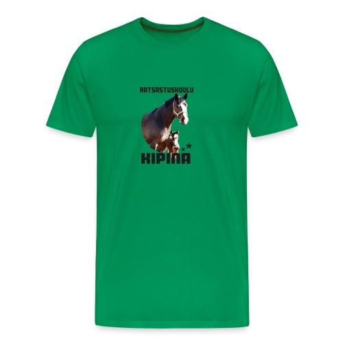 Kipinän t-paita - Miesten premium t-paita