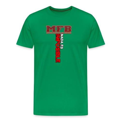 NADA ES IMPOSIBLE 2 - Camiseta premium hombre